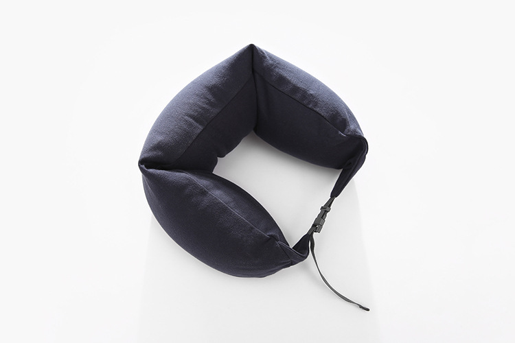 U-Shape Travel Pillow for Airplane Inflatable Travel Accessories Comfortable Pillows for Sleep Home Textile Hoodie Neck Pillow
