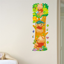 hot deal buy wall stickers for kids rooms winnie the pooh height meter kids stickers vinyl height stickers on the wall in the nursery