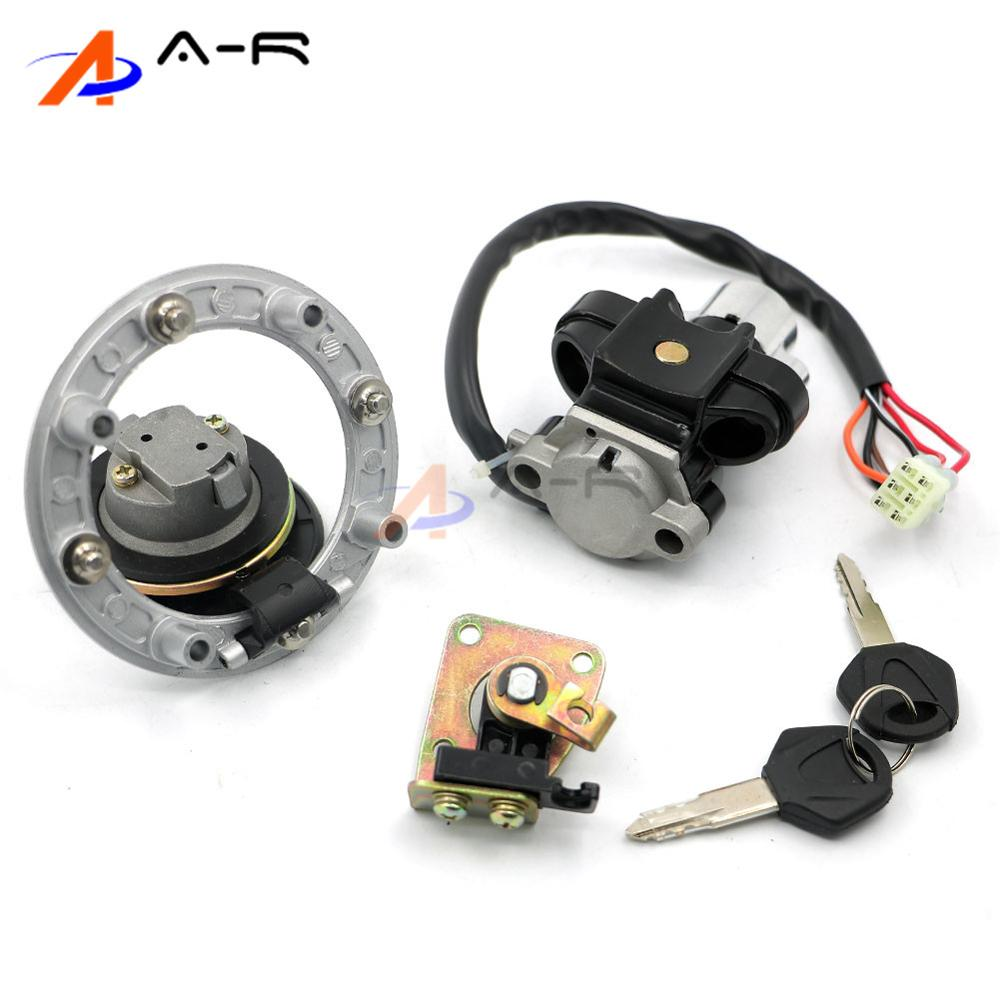 US $43.09 |Ignition Switch Fuel Gas Tank Cap Cover Seat Lock Key Set on ignition solenoid, ignition distributor, ignition diagram, ignition cable,