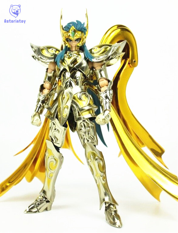 CMT CS Model God Aquarius model EX Aquarius Camus God Cloth Soul Of Gold Saint Seiya Metal Armor Myth Cloth Action Figure myth cloth anime figure model saint seiya pegasus tenma v1 metal armor action figures for collections