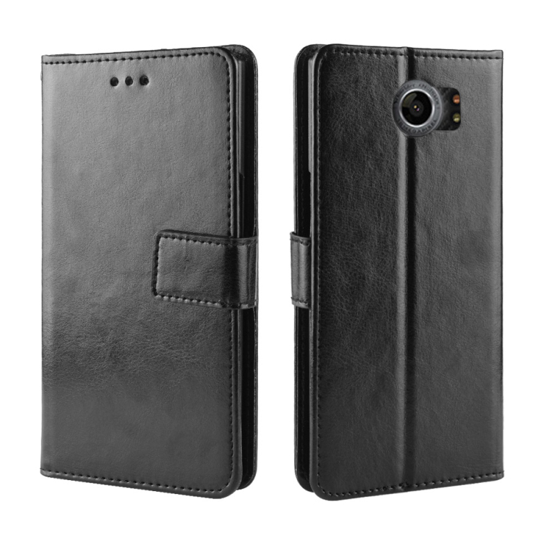 PU Leather cover with TPU for Blackberry Priv case with Card slot Flip Stand for Blackberry Priv case Bag