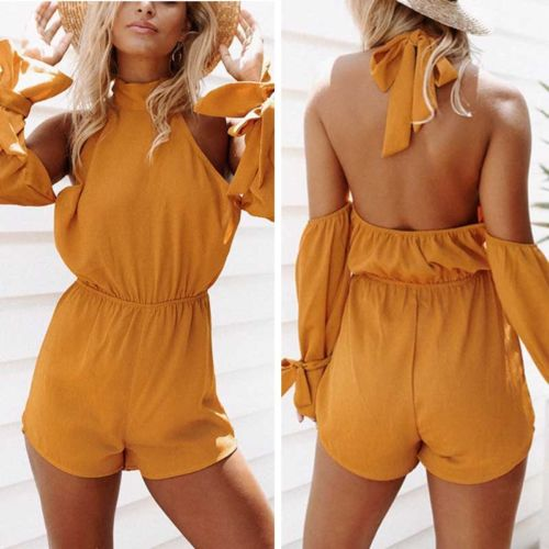 New Women Ladies Clubwear Summer Playsuit Bodycon Party Jumpsuit Romper Trousers Lady Womens Brief Soft Playsuit Clothing