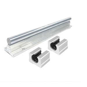 Image 5 - 10mm Linear Rail 2pcs SBR10* 200/300/450mm +4pcs SBR10UU Linear Guide  Linear Motion Ball Bearing Blocks For CNC Linear Shaft