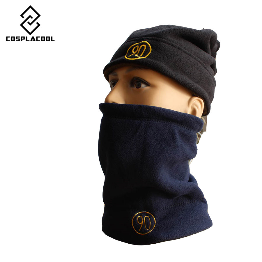 Both sides scarf Beanies Knit Men's Winter Hat Skullies Bonnet Winter Hats For Men Women Beanie Fur Warm Baggy Wool Knitted Hat unisex skullies knit men s winter balaclava bonnet women thicken winter hats for men beanie warm baggy knitted hat and scarf