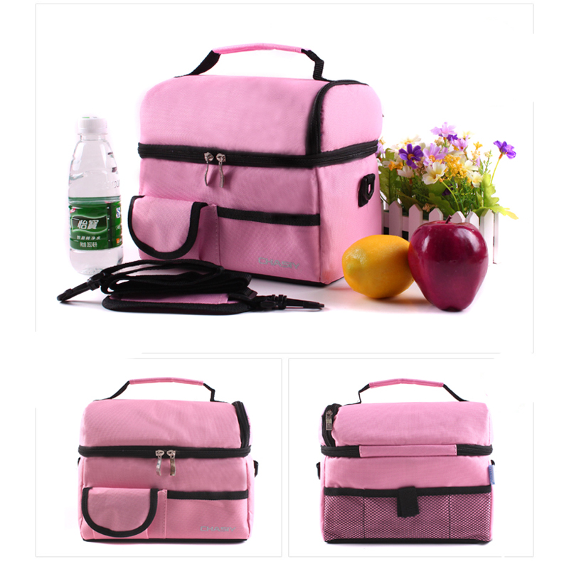CHASIY Lunch Bags for Women Kid Multi Lancheira Thermo Thermal Food bag Picnic Bags Leisure Handbag <font><b>Cooler</b></font> Insulated Lunch Box