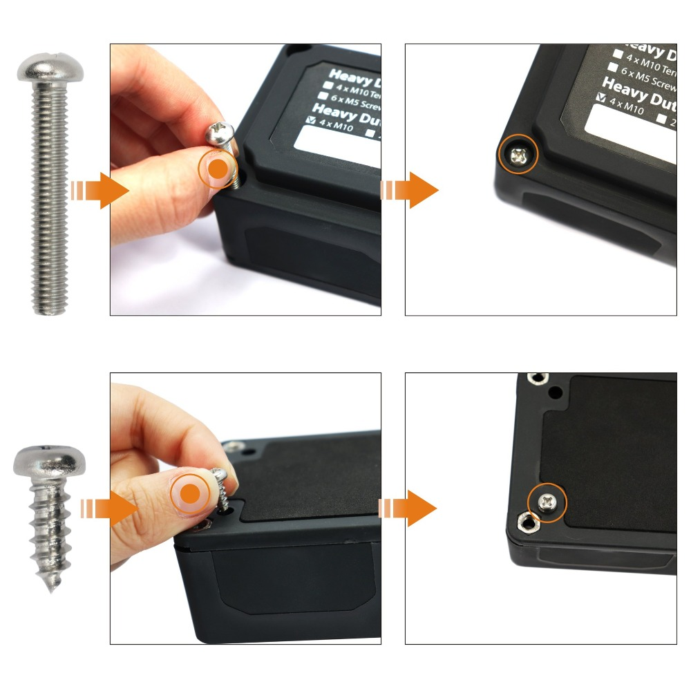 Image 5 - Heavy Duty Module Design Power Distribution Block Bus Bar Box with 4 Terminal Studs-in RV Parts & Accessories from Automobiles & Motorcycles