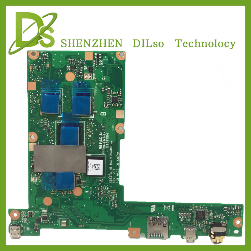KEFU X205TA motherboard for ASUS X205TA X205TAW laptop motherboard tested mainboard original in stock notebook 2GB 100%work hot for asus x551ca laptop motherboard x551ca mainboard rev2 2 1007u 100% tested new motherboard