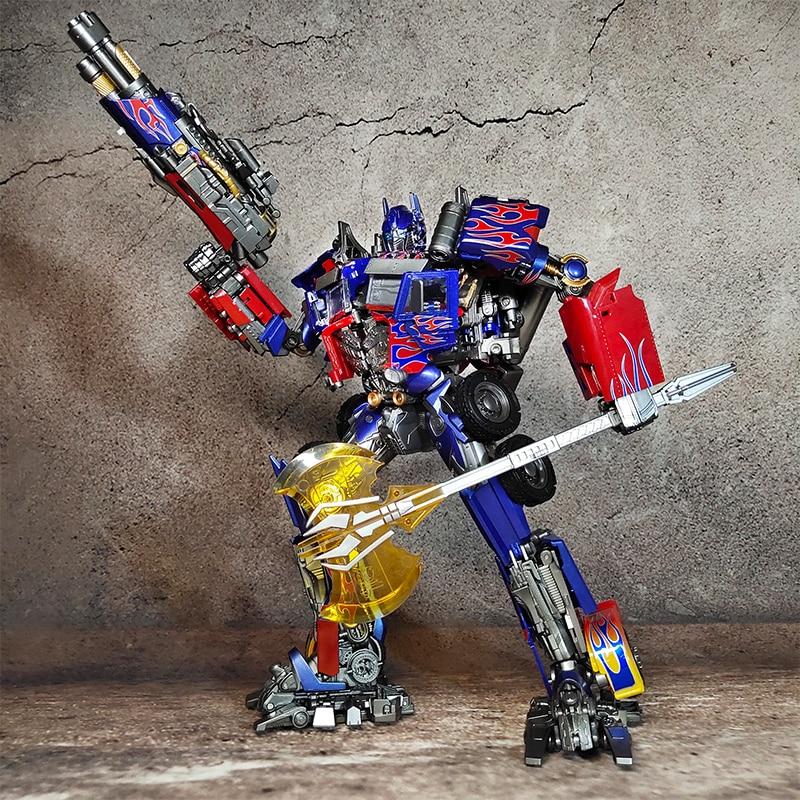 BMB Transformation Black Mamba LS03F LS-03F Commander Diecast Oversized Mpp10 MPM04 Figure Toy Boy Toys