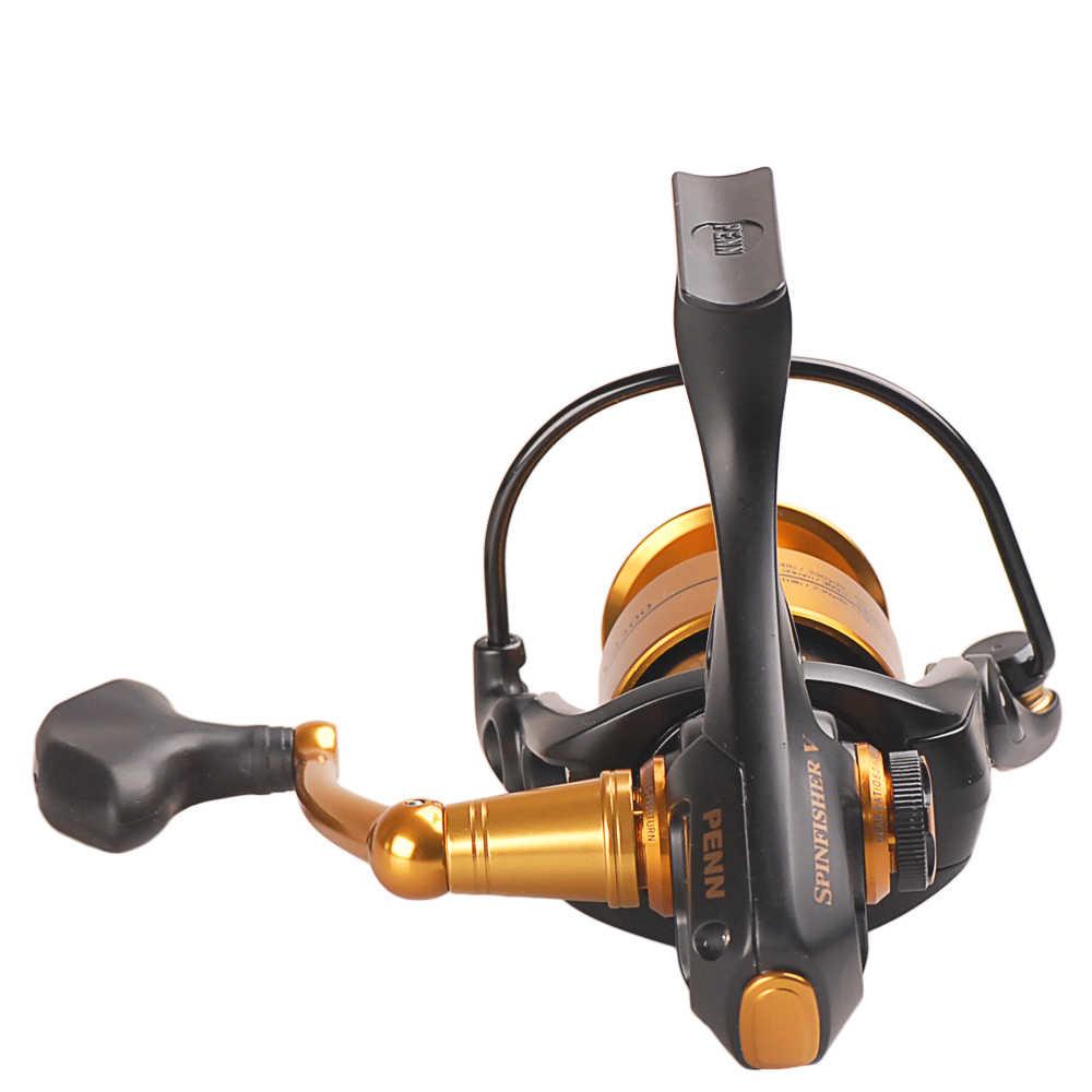 PENN SPINFISHER V Spinning Fishing Reel 3500-10500 Spinning Wheel 9-18KG Max Drag Power Lure Fishing Reel for Bass Pike Fishing