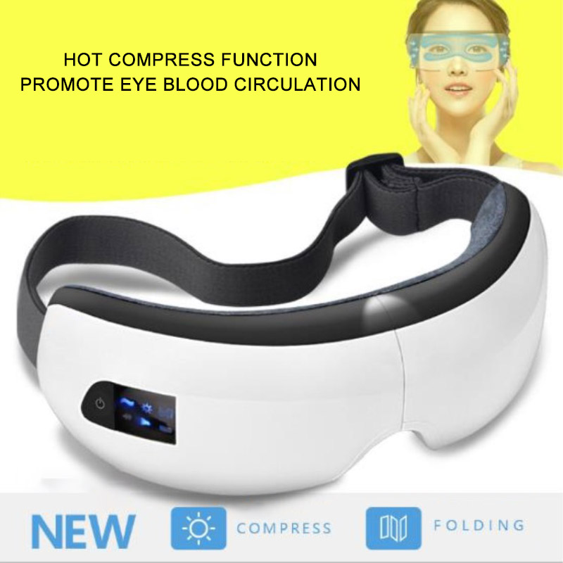 Eye Care Massager Air Compression Music Smart Vibrating Eye Protection Massagers Heated Goggles Anti Wrinkles Wireless