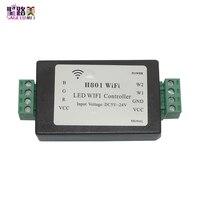 H801 RGBW LED WIFI controller LED RGB Controller DC5 24V eingang 5CH * 4A ausgang Für 5050 2835 3528 SMD led streifen licht band band-in RGB-Controller aus Licht & Beleuchtung bei