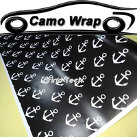 Anchor Camouflage Film Vinyl Wrap Motorcycle Car Self Adhesive Sticker Decal Film Car Styling Wrapping Air Release