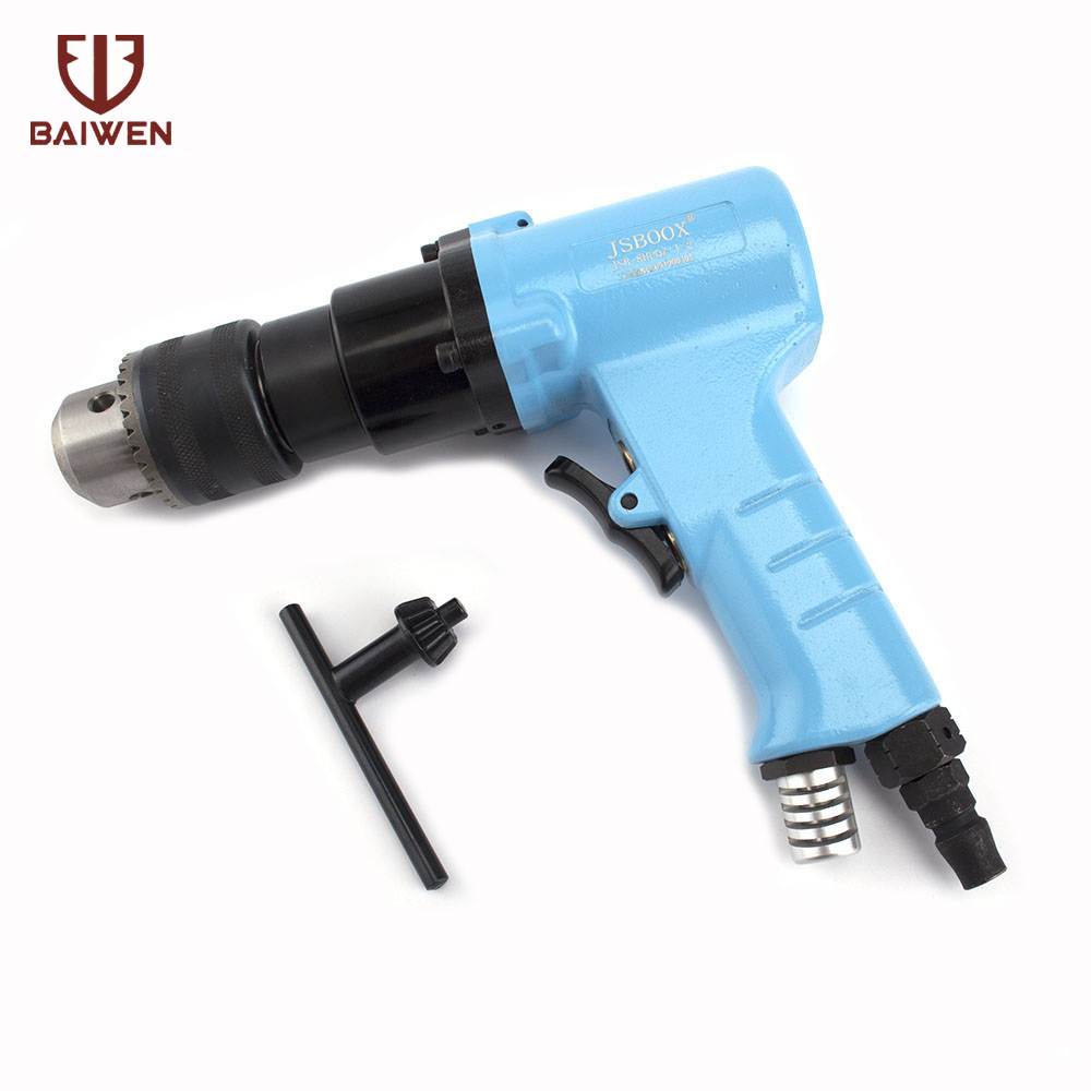 1.5-10mm Pneumatic Air Drill Gun Pistol Pneumatic Drilling Tools image