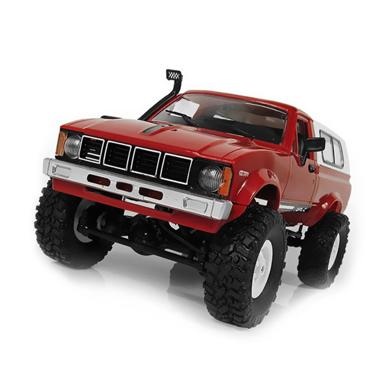 2018 New WPL C24 RC Car 1:16 4WD Radio Control Off-Road Mini Car RTR Rock Crawler Electric Buggy Moving Machine RC Car Kids Gift new arrival wpl wplb 1 1 16 2 4g 4wd rc crawler off road car with light rtr toy gift for boy children