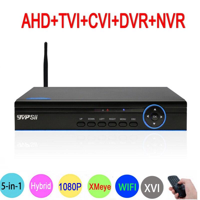 Blue-ray XMeye 1080P Surveillance Camera 1080N 16CH/8CH 6 in 1 WIFI Hybrid TVI CVI NVR AHD CCTV DVR VIdeo Recorder Free Shipping teate cctv 16ch ahd nh 1080n 16ch dvr digital video recorder 16 channel wifi hybrid security surveillance dvr nvr 1080p hdmi