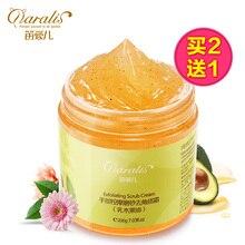 2017 Rushed Direct Selling Shea Hand Scrub Exfoliating Cream Winter Massage Whitening Moisturizing Calloused Wax Film