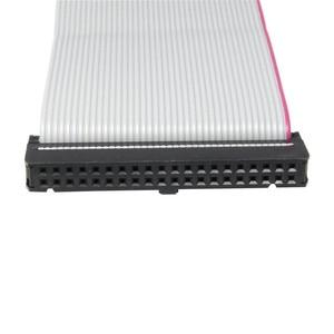 Image 4 - IDE 40 פינים זכר לנקבה כונן קשיח נתונים הארכת כבל סרט שטוח כבל עבור 3.5 inch PATA HDD
