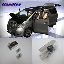 Liandlee LED Car Logo Light Door Welcome Lights Ghost Shadow Projector Lamp For Toyota Alphard 2011~2014 Courtesy Doors Lamps 2x canbus led car door logo welcome light ghost shadow projection emblem lights for seat alhambra n7 2011 2012 2013 2014