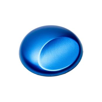 Sea Blue Lightning Metal Car Wrap Film Car Body Self Adhesive Film Air Bubble Free Stickers DIY Design PVC Vinyl Decor 1.52x3m