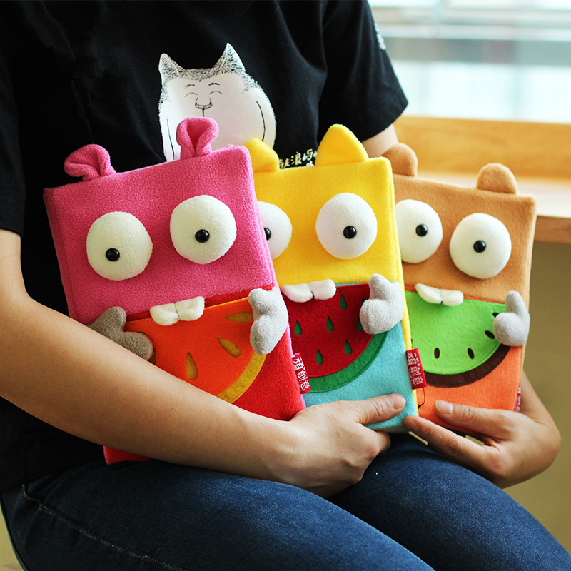 Coloffice creative Fruit Monster Notebook kawaii cloth cover notebooks