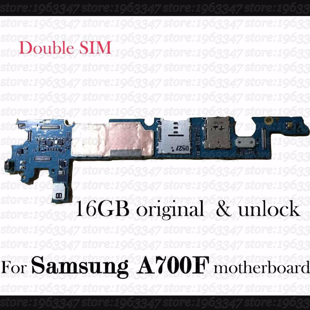 Original Unlocked For Samsung Galaxy A7 A700F A700fu A700fd motherboard 100 working mainboard with logic system