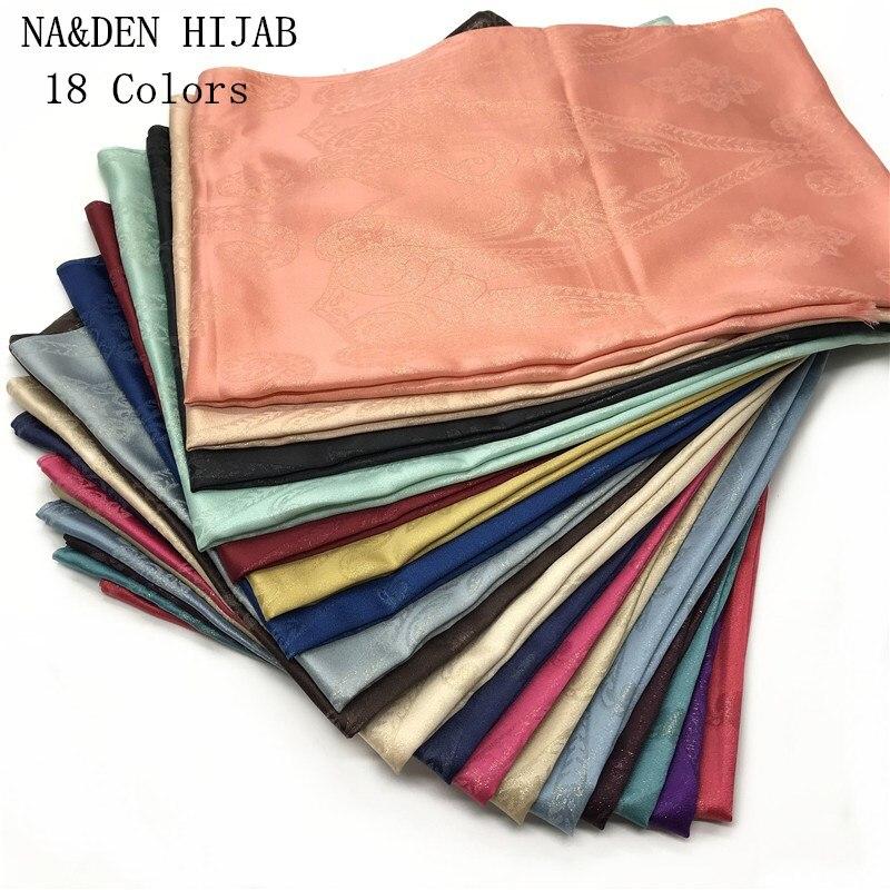 2019 High Quality Chiffon Solid Flowers scarf shawl women solid muslim hijab headbands lady essincial scarves