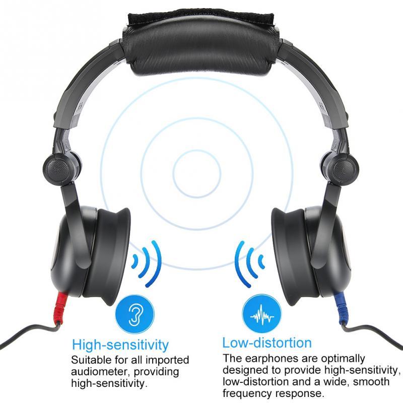 Audiometer Audiometric Hearing Screening Headphone Air Conduction Audiometer for Hearing Test цена