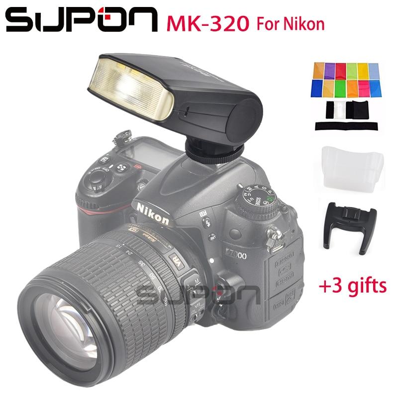 Meike MK320N I-TTL HSS Master FLash Speedlite MK-320 for Nikon J3 D7100 D5300 D5100 D5200 D5000 D3300 D3200 D3100 D750 D810 D550 dste dc111 en el14 battery charger for nikon d3200 d5200 d5300 df p7700 p7800 more slr cameras