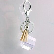 Liga de Zinco de Cristal de vidro Moda Coreana Fivela Acessórios Do Carro chaveiro em lote conjunto da cadeia de moda chave da cadeia de telefone Móvel 3