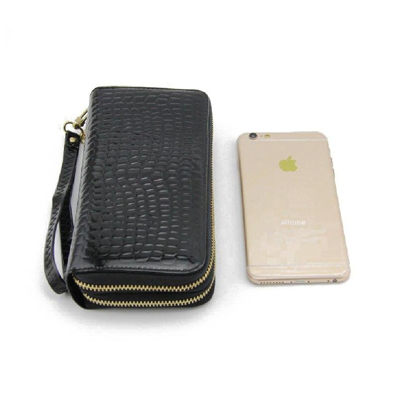 alta qualidade pu mulheres de Interior : Bolso Interior do Zipper, coin Pocket, note Compartment, suporte de Cartão
