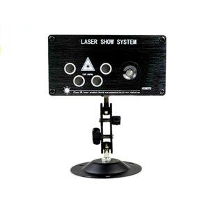 Image 4 - Лазерный прожектор для дискотеки, музыкальный светодиодный прожектор, переносная сценическая лампа для диджея, семейная вечеринка, Цветной RGB, автоматические звуковые активные лампы, 120 шаблонов
