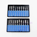20Pcs Dental Tungsten Steel Nitrate Carbide Burs Drills Dentistry Dental Equipment