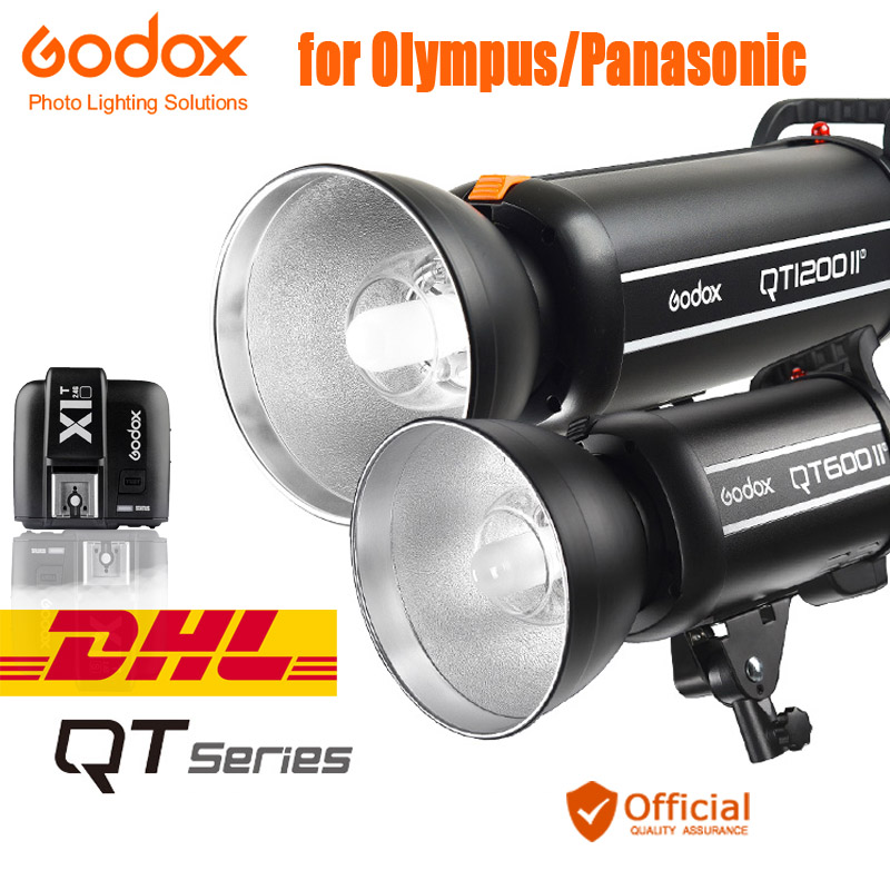 Godox QT Series 2.4G Wireless X system GN65 Speed Sync 1/8000s Studio Flash Light for Panasonic Olympus E-M1 II E-M5 II PEN-F нож строительный vira 831301 18мм