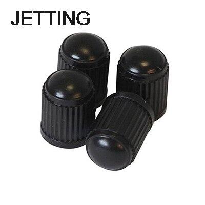 Obedient Jetting 4pcs/lot Black Plastic Bike Bicycle Valve Dust Caps Car Van Motorbike Tyre Tubes Drop Shipping Driving A Roaring Trade