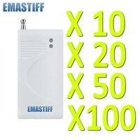 Free Shipping Wholesale 10 20 50 100 Pcs 433MHz Wireless Glass Vibration Breakage Sensor Detector For