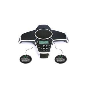 Image 2 - A550PUE Multipoint zestaw głośnomówiący zestaw głośnomówiący publicznej komutowanej sieci telefonicznej telefon konferencyjny z 2 rozbudowy mikrofony