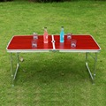 Mainstays Folding Table Portable Outdoor Picnic  MDF Camping Dining Party