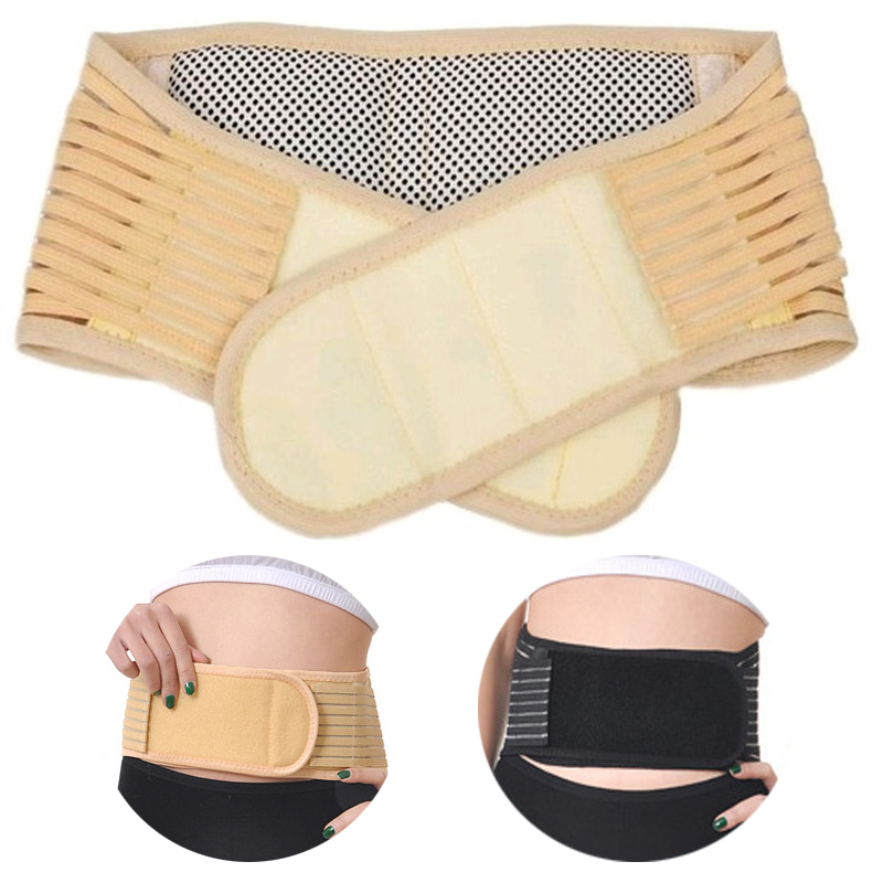 Lumbar Braces Belt Tourmaline Magnetic Therapy Waist Spontaneous Self Heating burning fat abdominal muscle trainer brace support