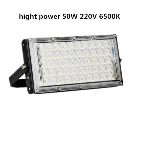LED COB Iode tungste lampe hight puissance 50 w 100 w Lumière D'inondation AC 220 v LED Spotlight Refletor En Plein Air éclairage à lumière de La Publicité