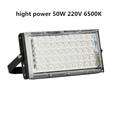 LED COB Iodine Tungste Lamp Hight Power 50W 100W Flood Light AC 220V LED Spotlight Refletor Outdoor Lighting Advertising Light