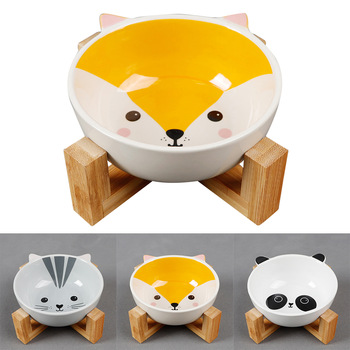 Cute Cartoon Pattern Ceramic Bowl
