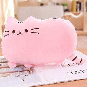 Image 3 - Игрушки «пушин» для кошек, 25 см, мягкие игрушки, мягкие котята, мягкие игрушки животные и плюшевые игрушки, милая подушка для кошек, подарок для маленьких девочек, игрушки «пуш ин»