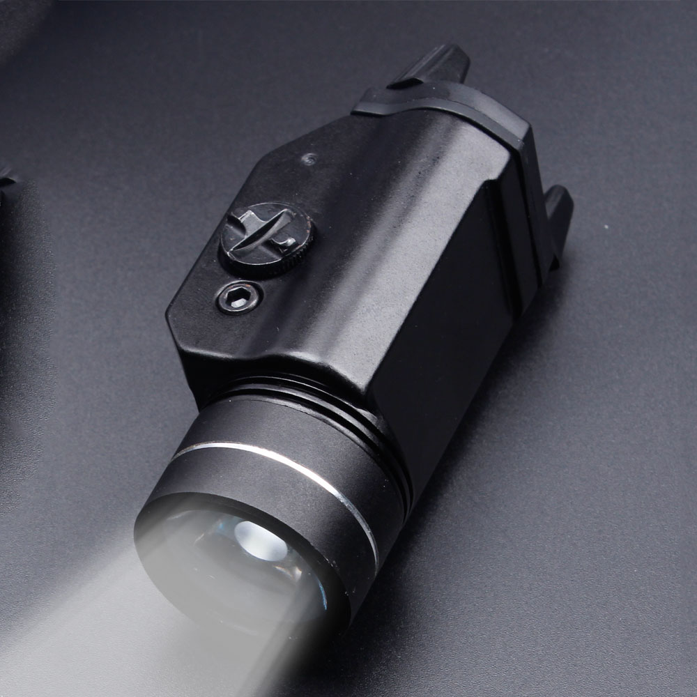 Sofirn GL01 Weapon Mounted Tactical Light IPX7 Lightweight Compact High Lumen With Strobe CR123A Cree XML2