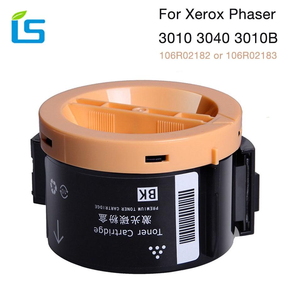 цена 1pcs 3010 3040 Toner Cartridge Compatible for Fuji for XEROX Phaser 3010 3040 WorkCenter 3045 printers 106R02182 or 106R02183 онлайн в 2017 году