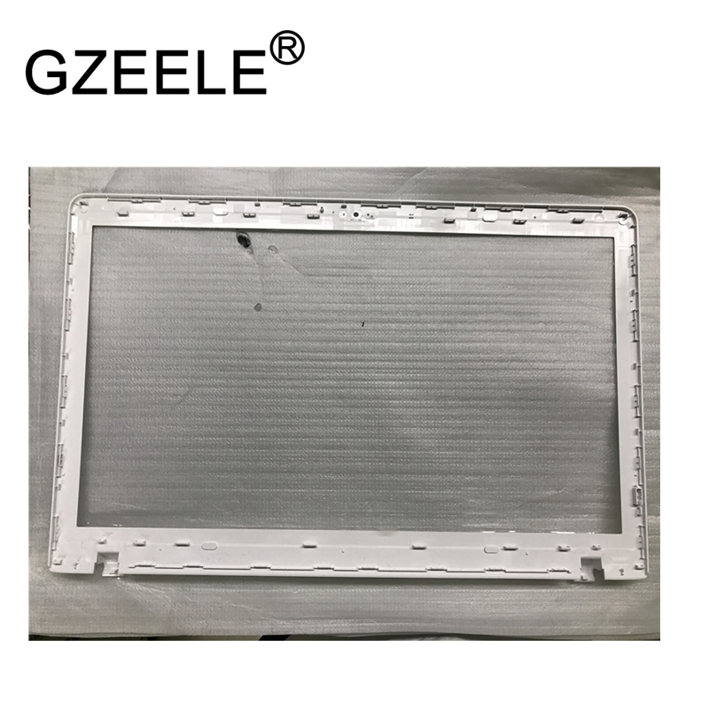 GZEELE new FOR SAMSUNG NP270E5G NP270E5V NP270E5J 300E5E 270E5E 270E5V 275E5E LCD Front Bezel Trim cover case BA75-02563A white