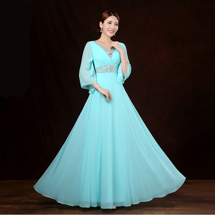 Popular Plus Size Bridesmaid Dresses with Sleeves-Buy Cheap Plus ...