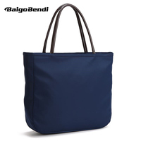 Light Weight Candy Color Womans Nylon Casual Tote Large Waterproof Oxfords Handbag One Shoulder Satchel Bag