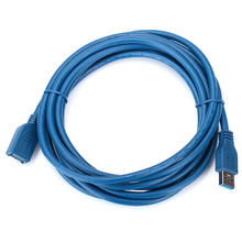3m USB 3.0 A Male to Female Data Cable Super Fast Extension Digital Data Transfer Sync Cables Cord Wire Line for Computer