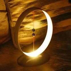 Zawieszenie magnetyczne bilans lampy LED ładowane na USB proste inteligentne światło nocne JA55