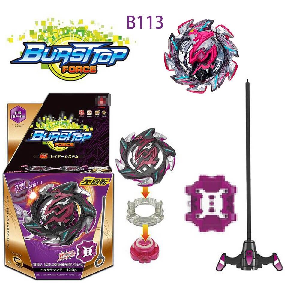 TOP Beyblade Burst B100 B110 B97 With Launcher Kids Boys Funny Toy Starter Zeno Excalibur .M.I (Xeno Xcalibur .M.I) Bables Toys все цены